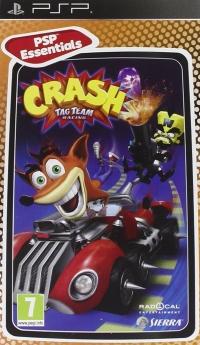 Crash Tag Team Racing - PSP Essentials Box Art