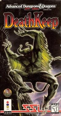 Advanced Dungeons & Dragons: DeathKeep Box Art