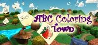 abc coloring town Box Art