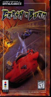 Crash 'N Burn Box Art