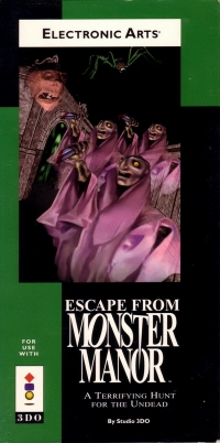 Escape from Monster Manor Box Art