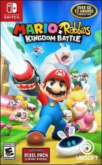 Mario + Rabbids: Kingdom Battle (Includes Pixel Pack) Box Art