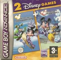 2 Disney Games: Disney Sports Skateboarding + Disney Sports Football Box Art