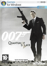 007: Quantum of Solace [FR] Box Art
