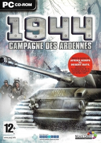 1944: Campagne des Ardennes Box Art