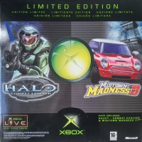 Microsoft Xbox - Halo: Combat Evolved / Midtown Madness 3 - Limited Edition [DK][FI][NO][SE] Box Art