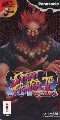 Super Street Fighter II Turbo Box Art