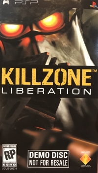Killzone: Liberation Demo Box Art