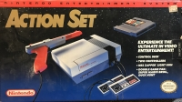 Nintendo Entertainment System Action Set Box Art
