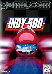 Indy 500 Box Art