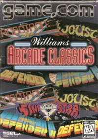 Williams Arcade Classics Box Art