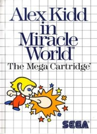 Alex Kidd in Miracle World Box Art