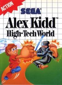 Alex Kidd: High-Tech World Box Art