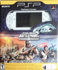 Sony PlayStation Portable PSP-2001ZW - Star Wars Battlefront: Renegade Squadron Box Art