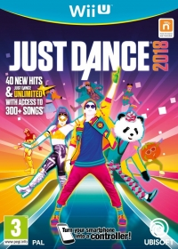 Just Dance 2018 Box Art