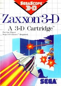 Zaxxon 3-D Box Art