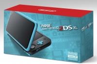 New Nintendo 2DS XL - Black + Turquoise [NA] Box Art