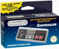 Nintendo Classic Mini: Nintendo Entertainment System Controller [EU] Box Art