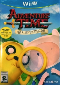 Adventure Time: Finn & Jake Investigations (Finn & Jake Papercraft Inside) Box Art