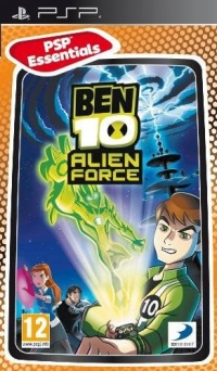 Ben 10: Alien Force - PSP Essentials Box Art
