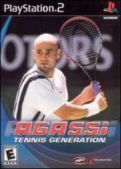 Agassi Tennis Generation Box Art