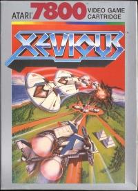 Xevious Box Art