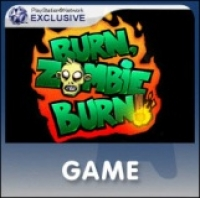 Burn Zombie Burn Box Art