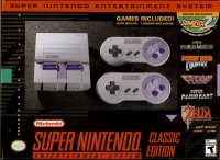 Super Nintendo Entertainment System Classic Edition [NA] Box Art