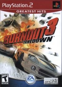Burnout 3: Takedown - Greatest Hits Box Art