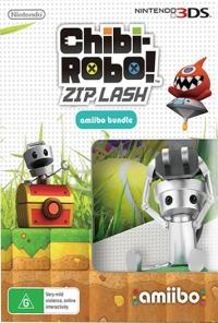 Chibi-Robo! Zip Lash (amiibo Bundle) Box Art