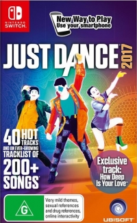 Just Dance 2017 Box Art