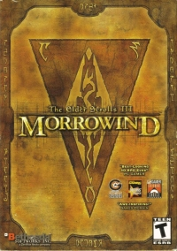 Elder Scrolls III, The: Morrowind Box Art