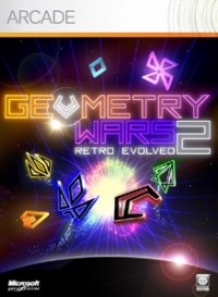 Geometry Wars: Retro Evolved 2 Box Art