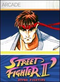 Street Fighter II' Hyper Fighting Box Art