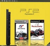 Sony PlayStation 2 - Gran Turismo 4 Platinum / Tourist Trophy Box Art