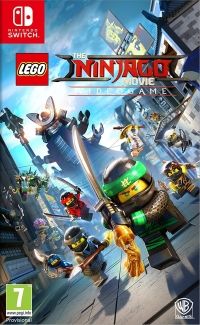 LEGO Ninjago Movie, The: Videogame [UK] Box Art