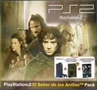 Sony PlayStation 2 - El Señor de los Anillos Pack Box Art