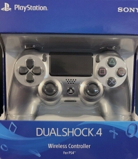 PlayStation 4 Dualshock 4 Wireless Controller - Silver Box Art