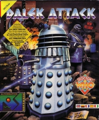 Dalek Attack Box Art