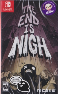 End is Nigh, The (Ash-Kicking Goodies Inside) Box Art