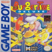 Burger Time Deluxe Box Art