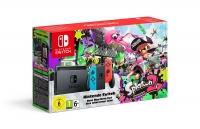 Nintendo Switch - Splatoon 2 (Neon Red / Neon Blue) [EU] Box Art