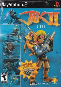 Jak II Video Demo Disc Box Art