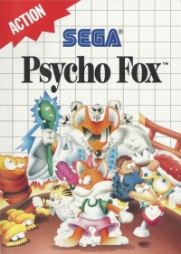 Psycho Fox Box Art