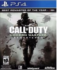 Call of Duty: Modern Warfare Remastered Box Art