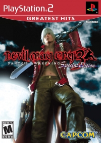 Devil May Cry 3: Dante's Awakening - Special Edition - Greatest Hits Box Art