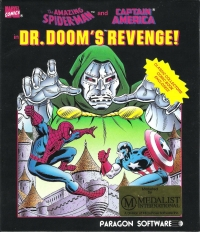 Amazing Spider-Man and Captain America in Dr. Doom's Revenge!, The Box Art