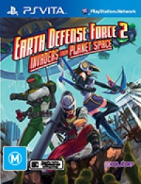 Earth Defense Force 2: Invaders From Planet Space Box Art
