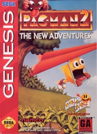 Pac-Man 2: The New Adventures (cardboard box) Box Art