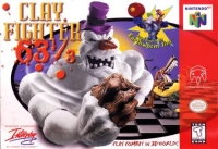 ClayFighter 63 1/3 Box Art